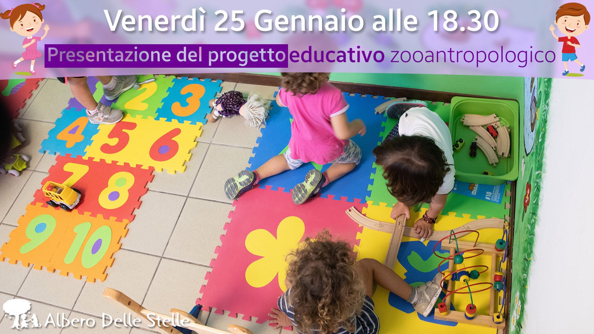 Presentazione progetto educativo zooantropologico